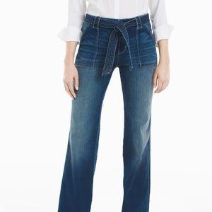 WHBM High rise trouser jeans